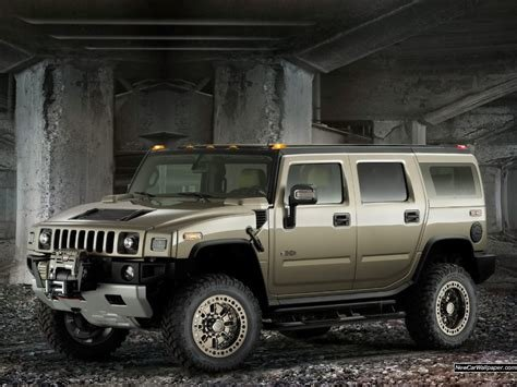 Latest Hummer H2 Safari Car 1024X768 Free Download