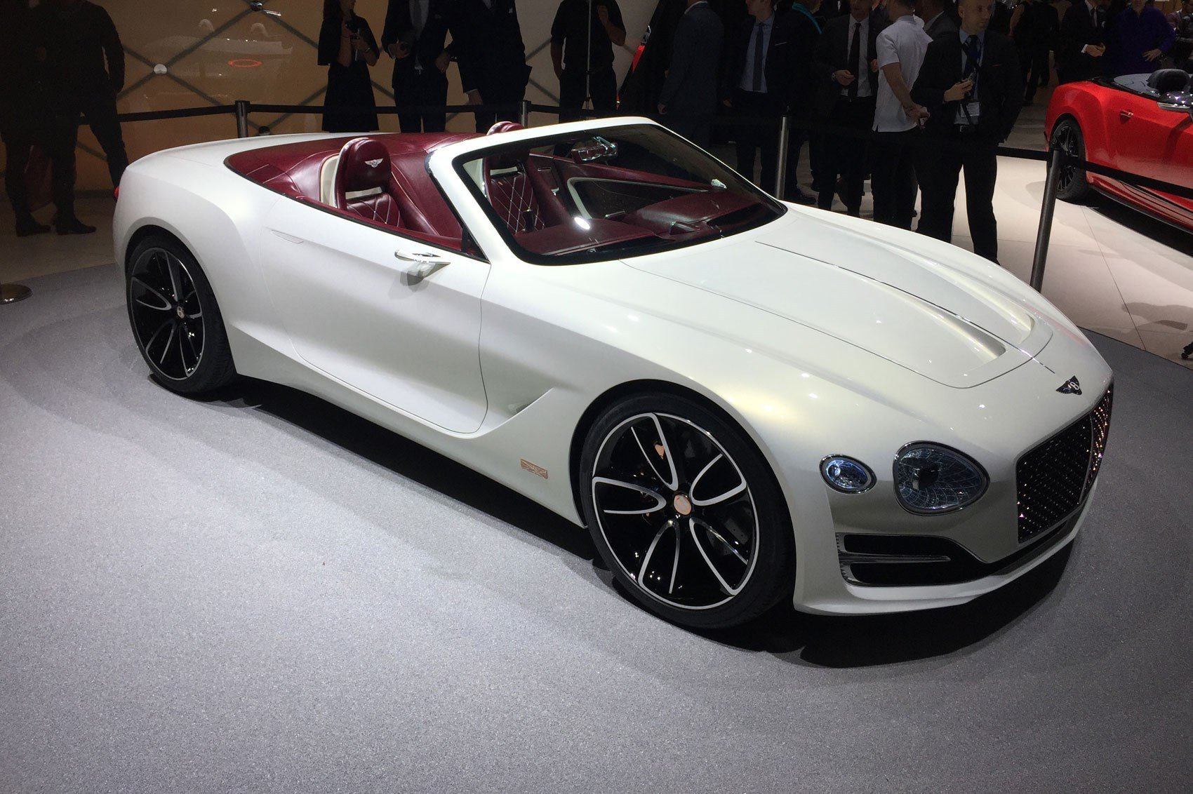Latest All Electric Bentley Exp 12 Speed 6E Convertible At Geneva Free Download