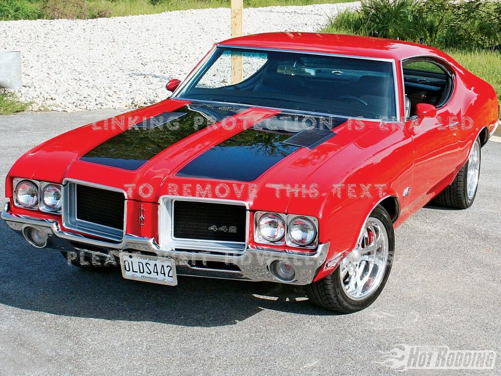 Latest Oldsmobile 442 Muscle Car Free Download