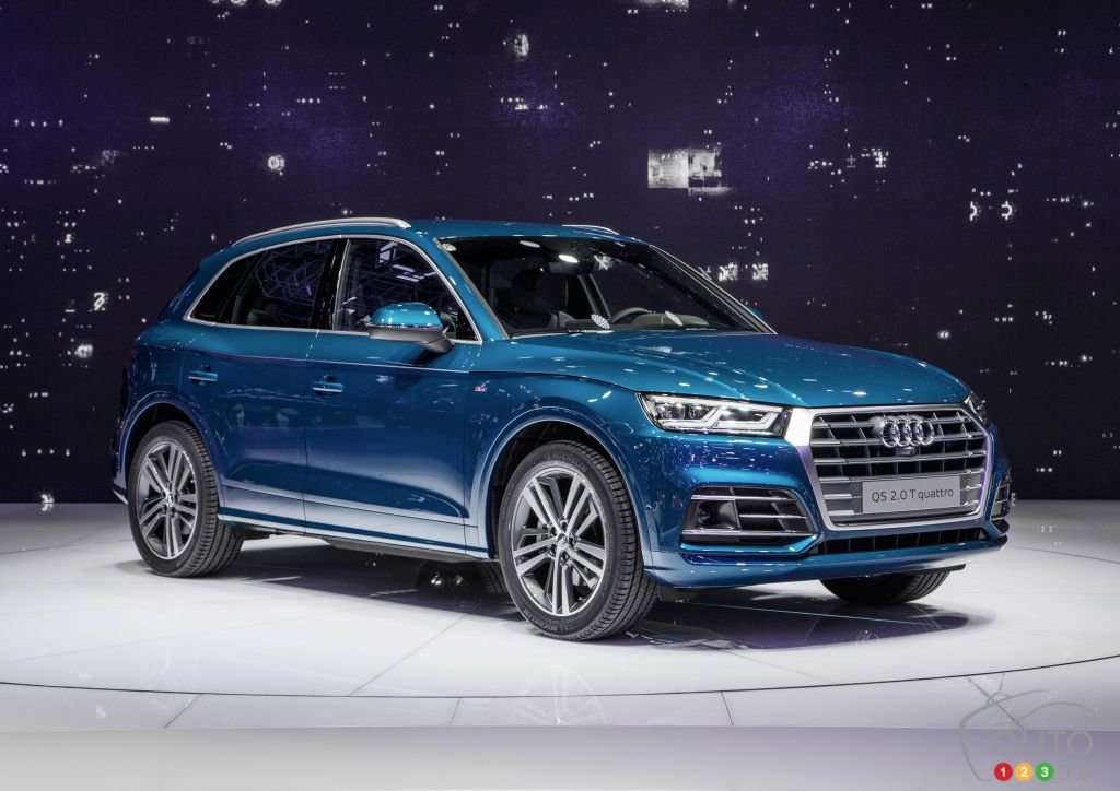 Latest All New Audi Q5 Finally Debuts At Paris Auto Show Car Free Download