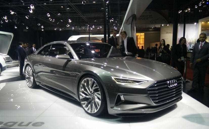 Latest Auto Expo 2016 Audi Displays Signature Prologue Concept Free Download