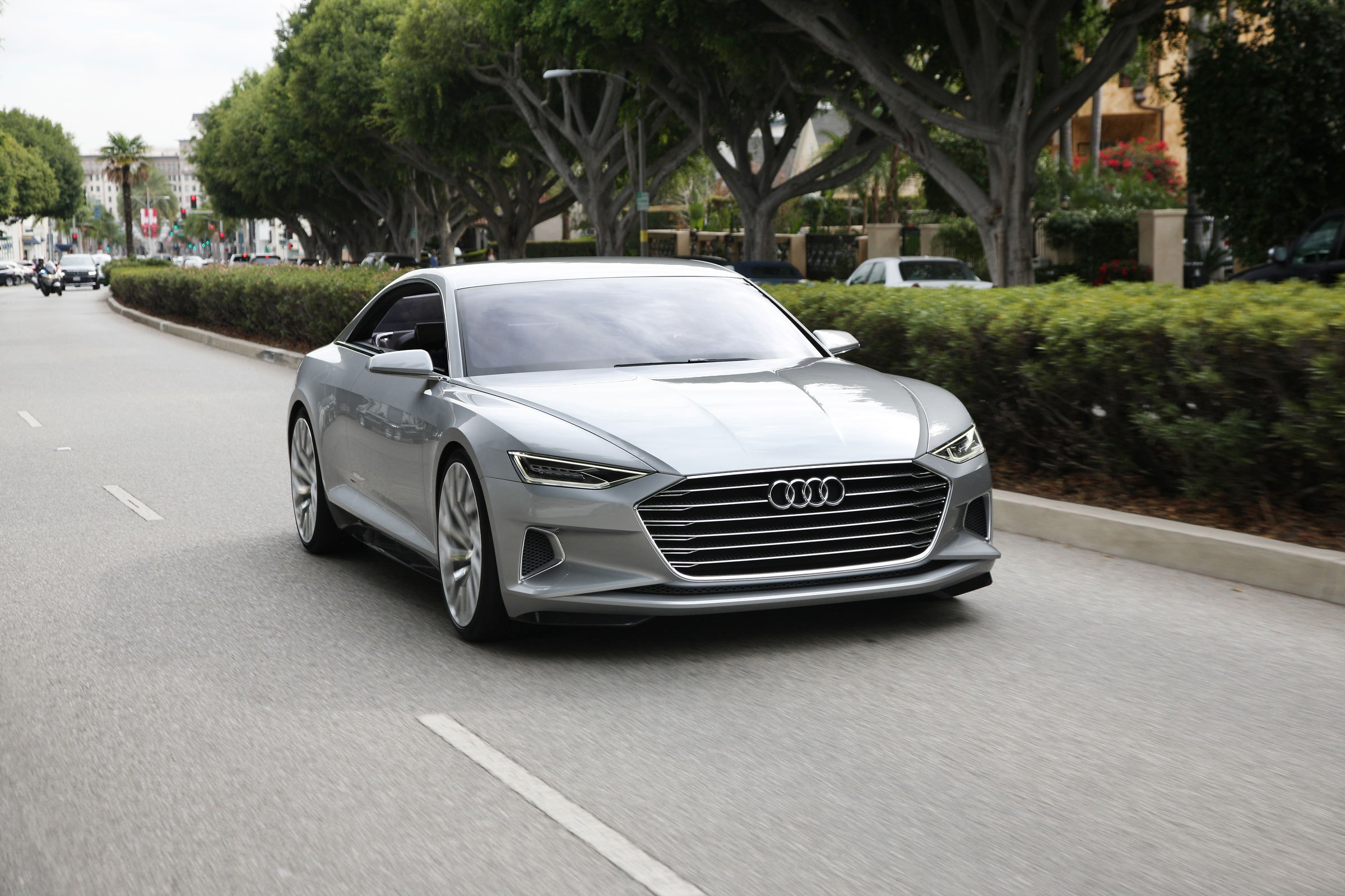 Latest Luxurious Audi A9 Coupe Set For 2018 Launch Carbuyer Free Download