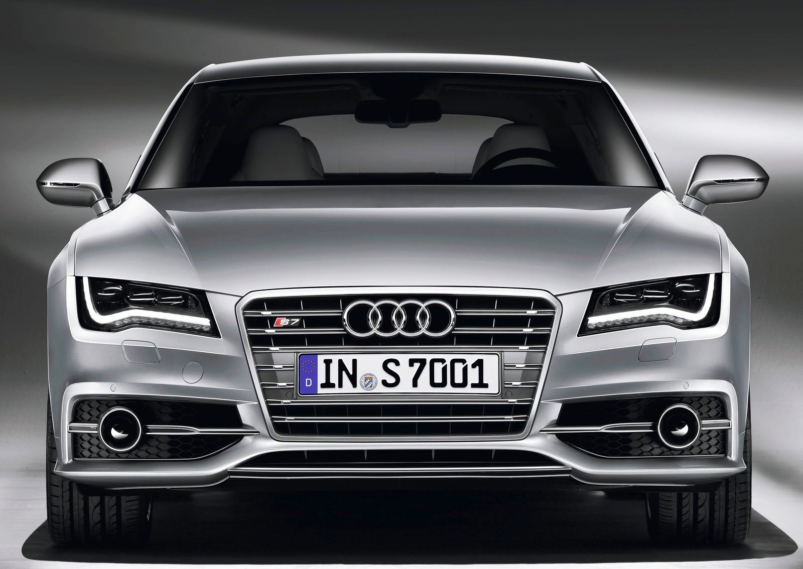 Latest Audi S7 Sportback Front View Car Pictures Images Free Download