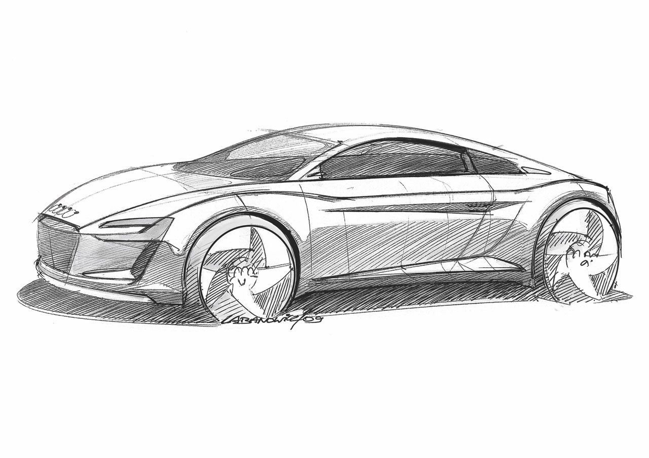 Latest Audi R8 Spyder By Dragonr1Der On Deviantart Drawing Step Free Download