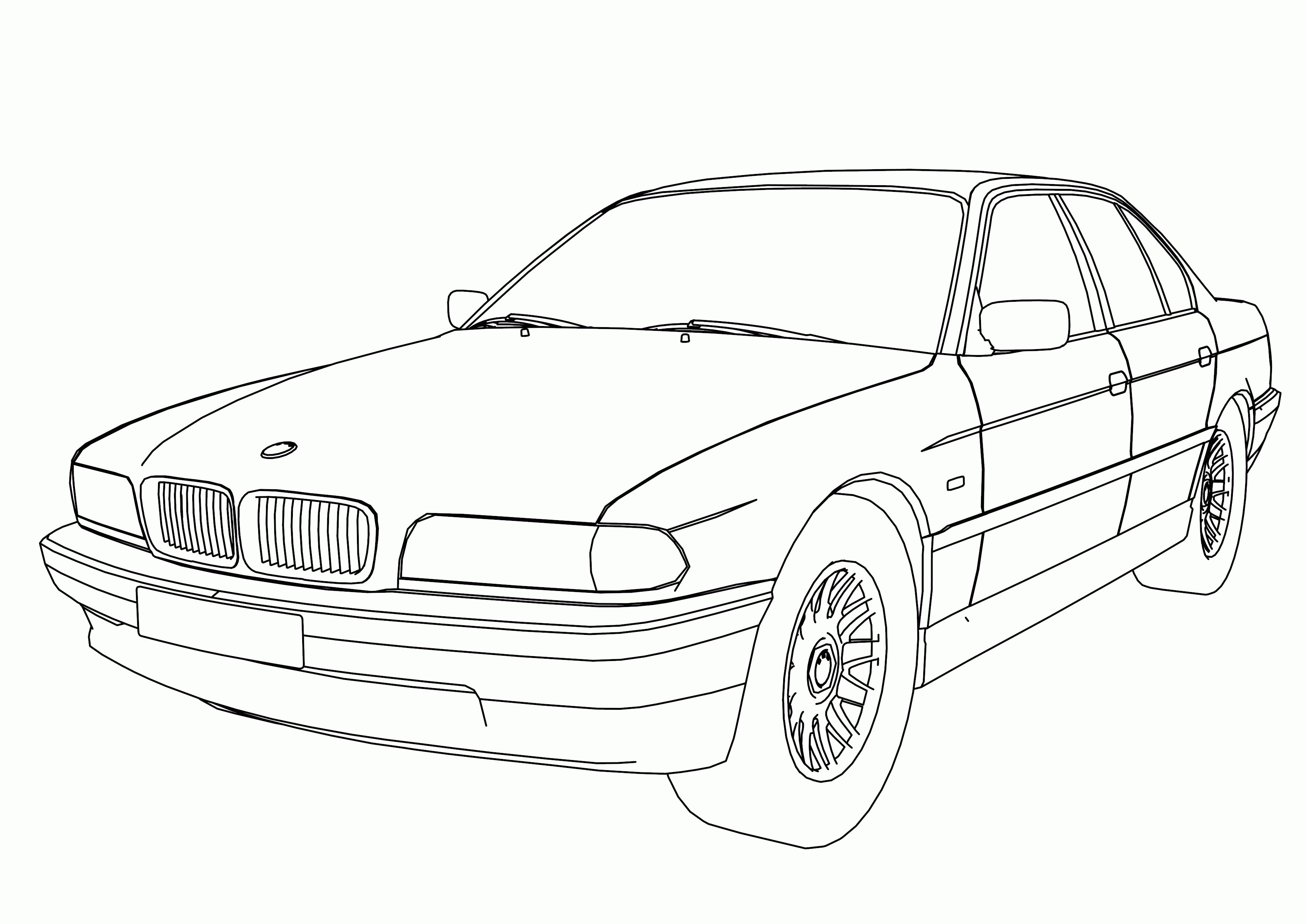 Latest Bmw Car Coloring Pages Coloring Home Free Download