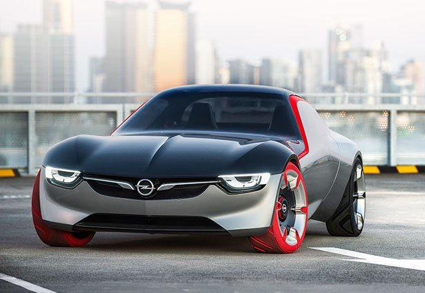 Latest Opel Gt Concept Car Features Panorama Glass Roof And Free Download