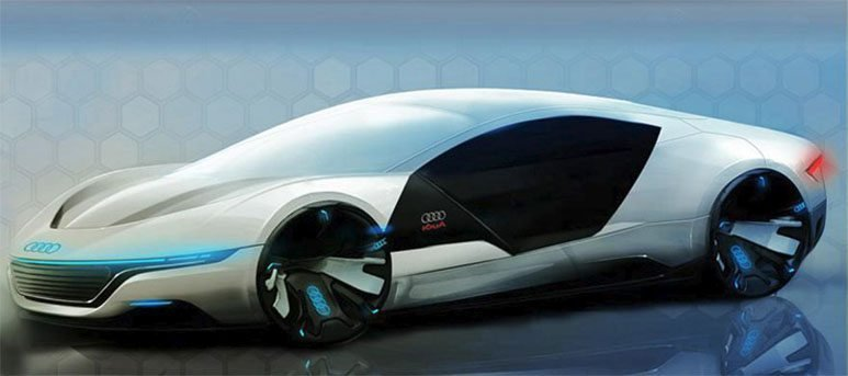 Latest Audi A9 Concept Car Repairs Itself And Changes Color Free Download