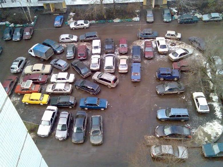 Как нельзя хранить автомобиль