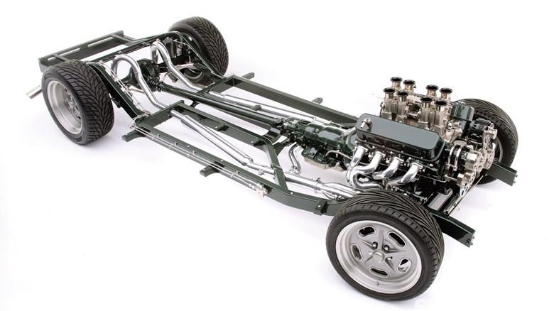 двигатель и подвеска