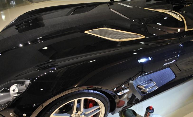 Полировка автомобиля воском, фото