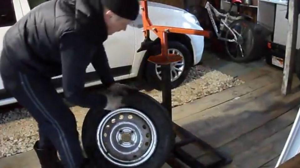Бортировка колес