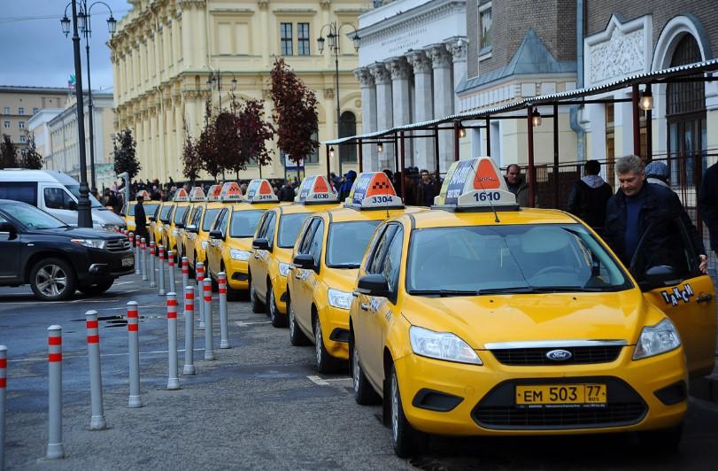 Такси Москвы, фото