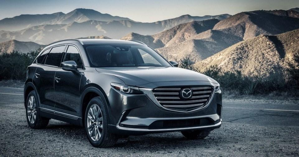 Необычная Mazda CX-9 – места хватит всем