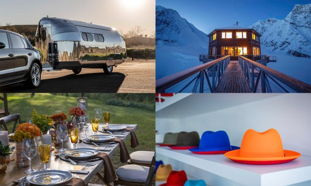 © Bowlus Road Chief, © Perini Ranch. © Sheldon Chalet, © Keith and James