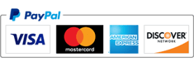 Visa, MasterCard, American Express, Discover card images