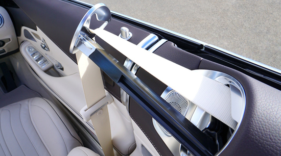Seatbelt technology and car safety features