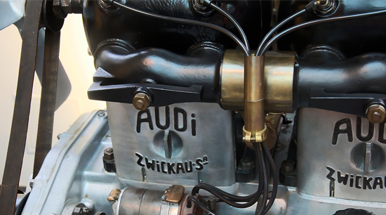 Audi OEM spark plugs and coils