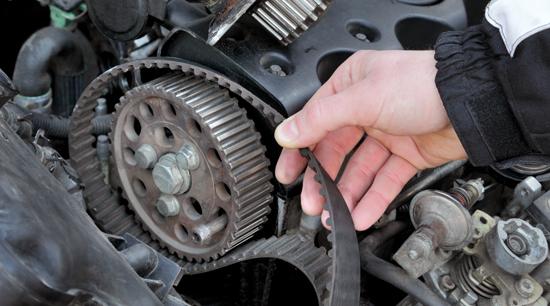 Premium auto parts OEM timing belt
