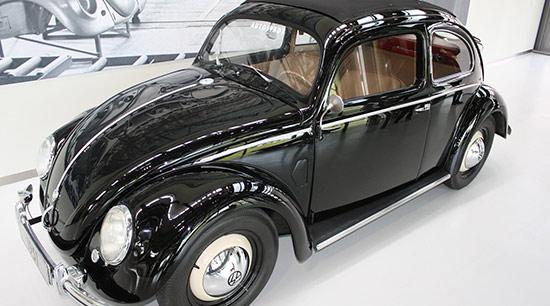 The Volkswagen group VW Beetle began production in 1938