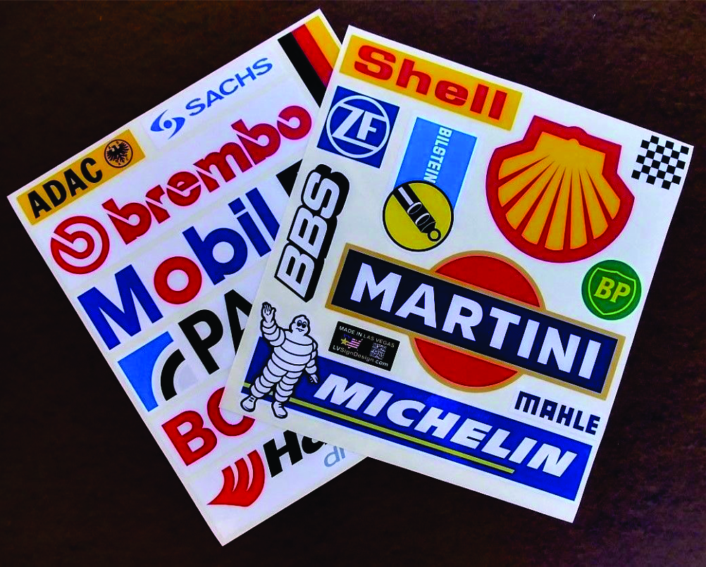 German autosport decals