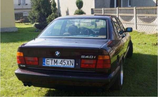 BMW E34 540 - купить, характеристики, фото | АвтоБелявцев ...