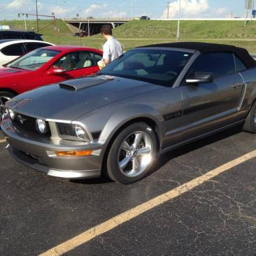 Ford Mustang: After