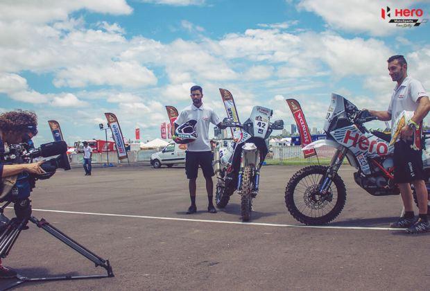 Hero Motorsports 2018 Dakar
