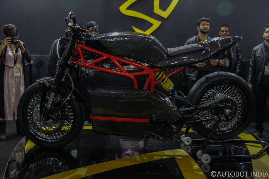 Menza Lucat Electric Motorcycle