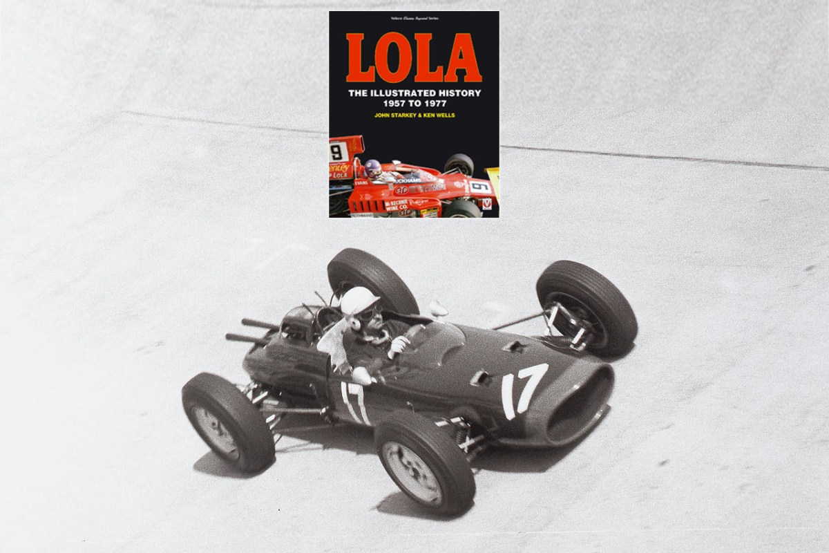Buch – Lola – The Illustrated History 1957 to 1977