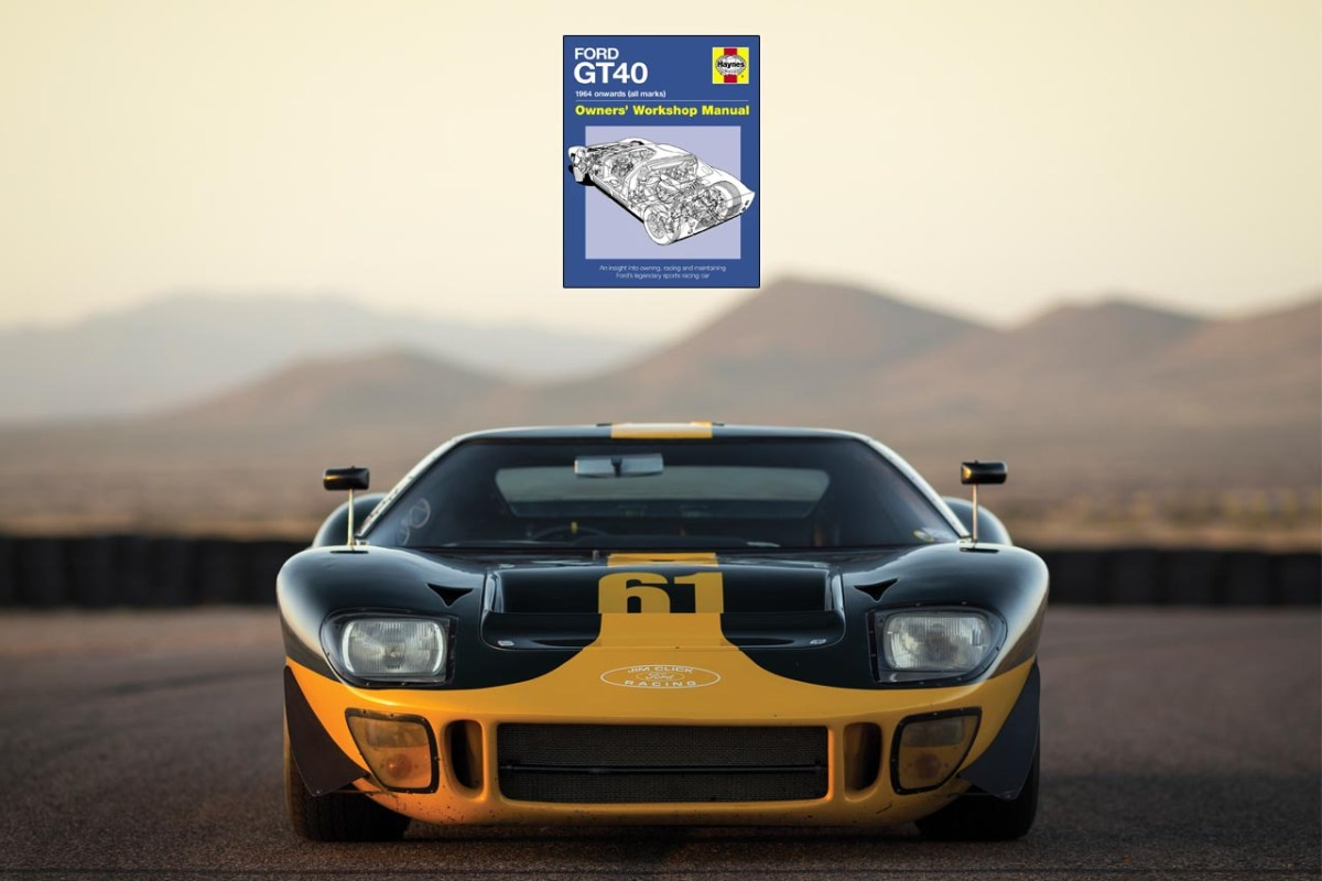 Buch – Ford GT40 – Owners' Workshop Manual