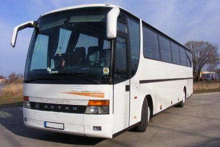 Autobusu noma, bus rent - SETRA