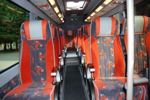 Autobusu noma, bus rent - MB SPRINTER interior