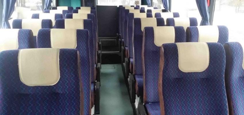 Autobuss NEOPLAN, salons