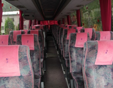 Autobusu noma, bus rent – VOLVO interior