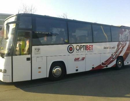 Autobusu noma, bus rent – VOLVO