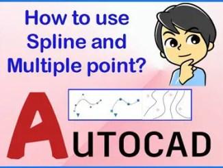 Spline Autocad