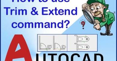 Trim and Extend command