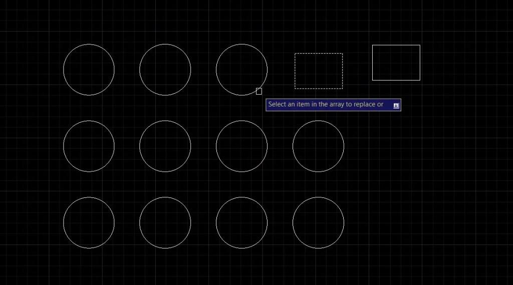 Replace item in Rectangular array