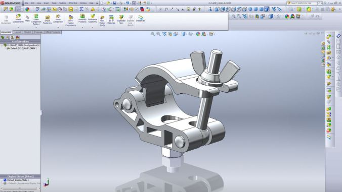 Solidworks 3D Drawing
