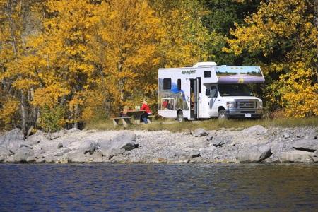 autocamper Camping i nationalpark