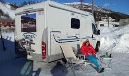 Autocamper Ferie - Vintercamping