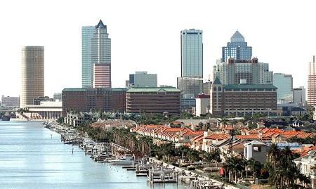 Leje af autocampere Tampa og Tampa airport