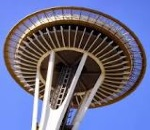 Space-Needle-Leje autocamper Seattle USA