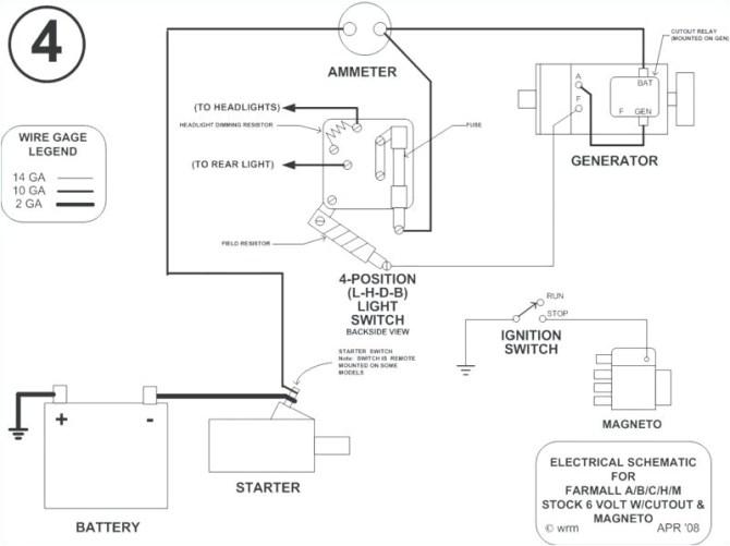 volt gauge wiring diagram farmall h  pietrodavicoit ground