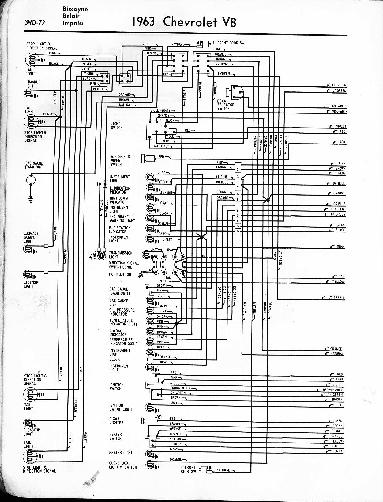 Chevy Nova Wiring Diagram