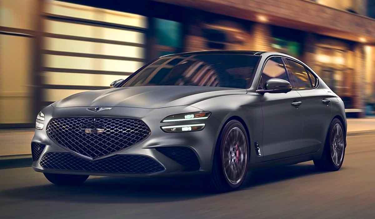 Interesting Refresh 2023 Genesis G70 Autocars Media