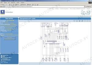 Сборник электрических схем для всех моделей Peugeot