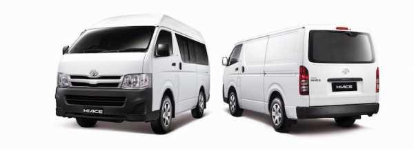 Микроавтобусы тойота модельный ряд 4х4