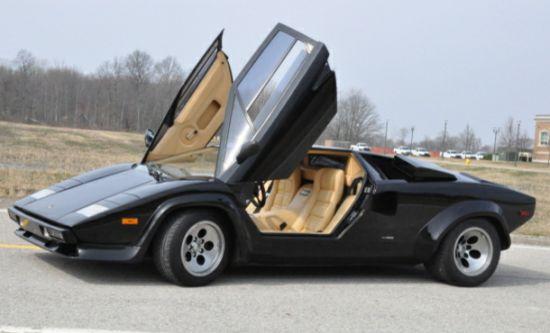 1983 Lamborghini Countach 5000s From Rain Man 2 Auto Chunk