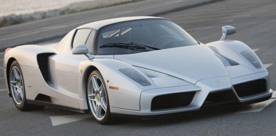 US's only silver Ferrari Enzo